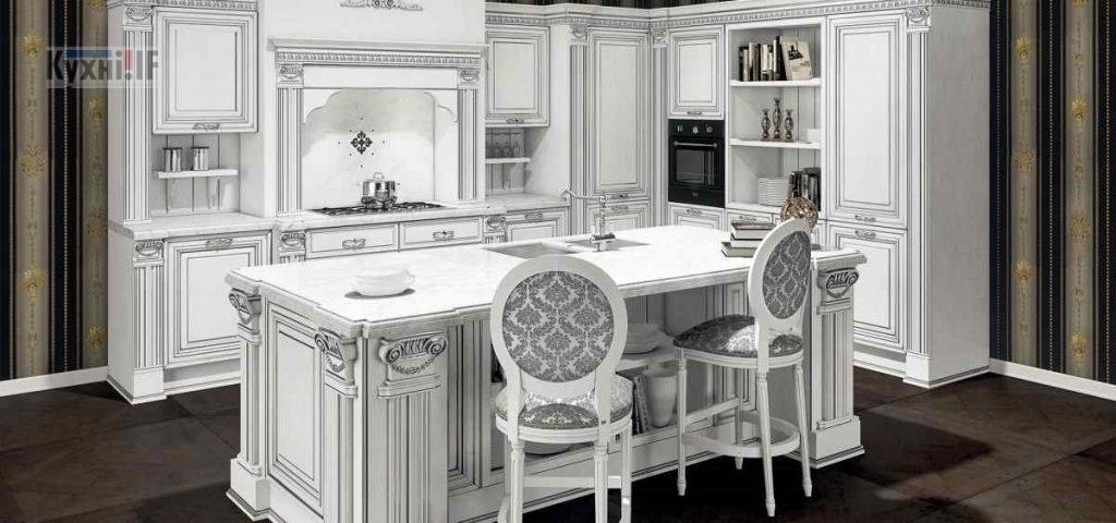 Кухні в класичному стилі фото Кухні.IF-4