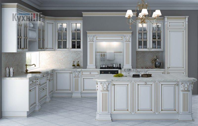 Кухні в класичному стилі фото Кухні.IF-39
