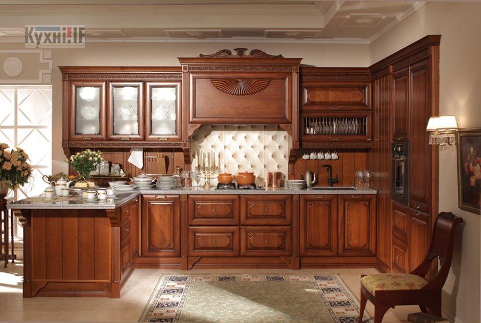 Кухні в класичному стилі фото Кухні.IF-46