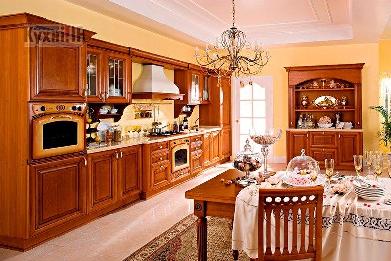 Кухні в класичному стилі фото Кухні.IF-48