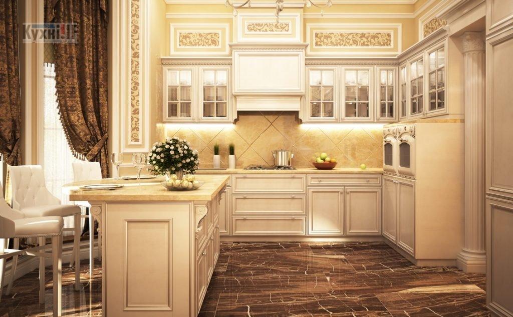 Кухні в класичному стилі фото Кухні.IF-5