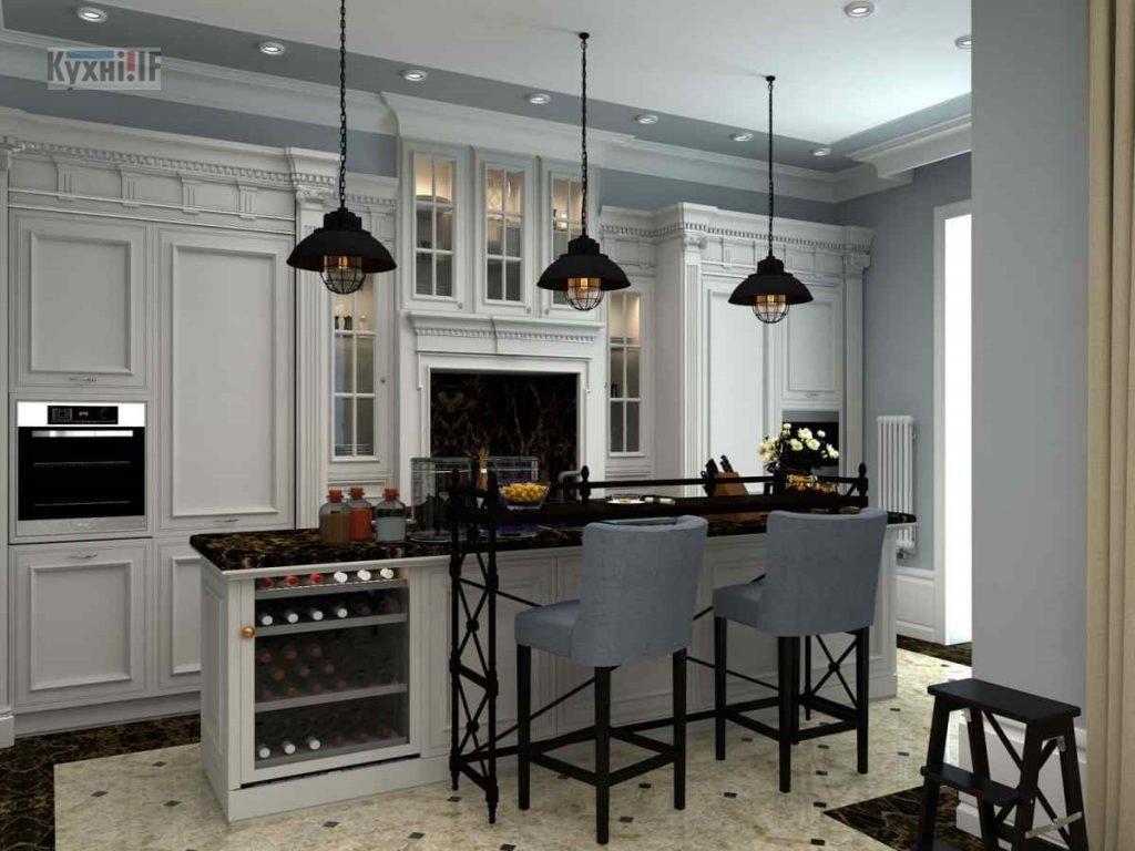 Кухні в класичному стилі фото Кухні.IF-50