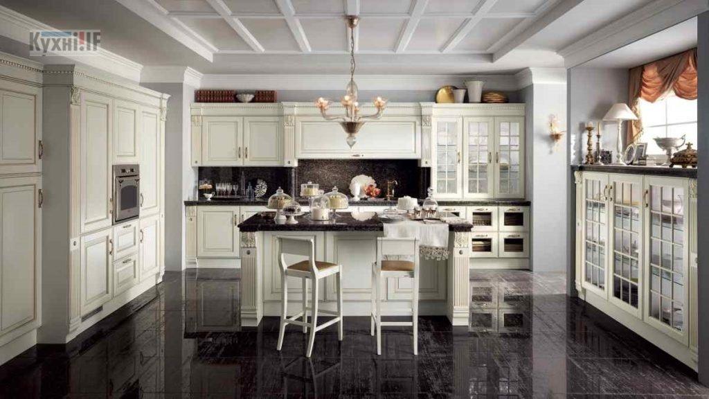 Кухні в класичному стилі фото Кухні.IF-52