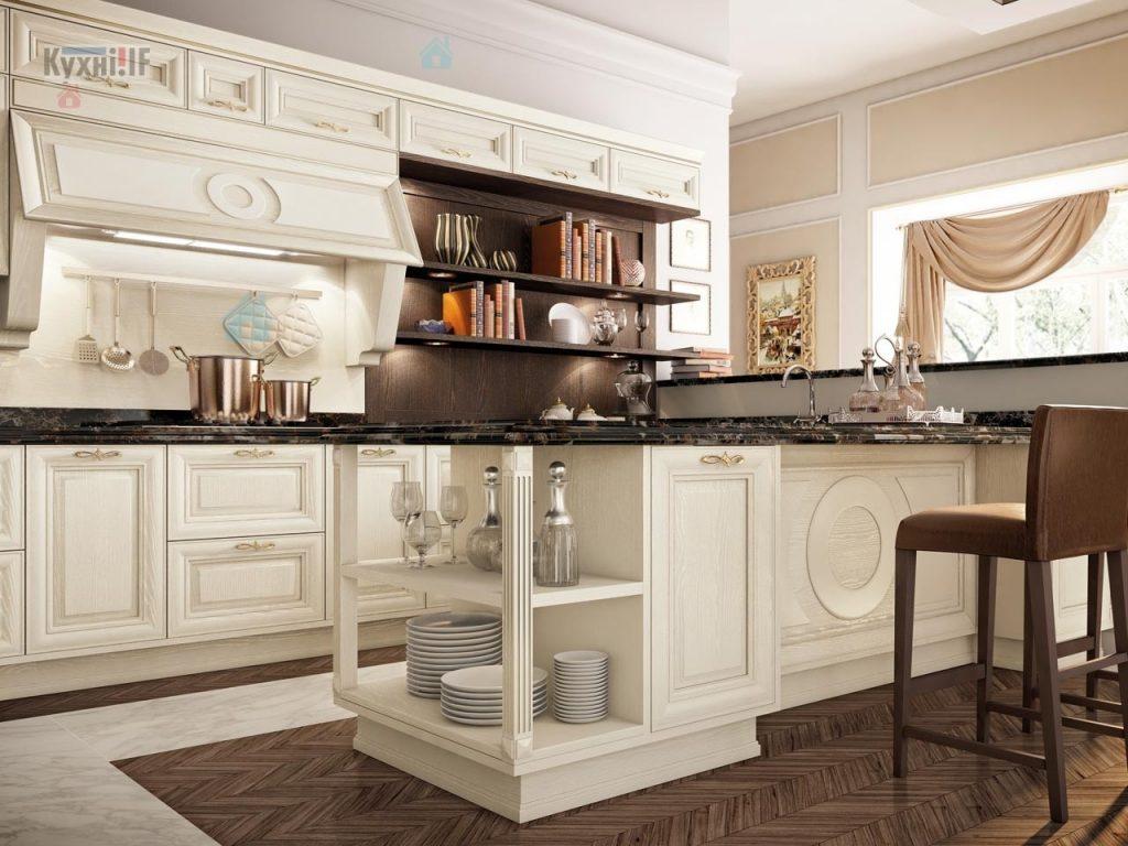 Кухні в класичному стилі фото Кухні.IF-56