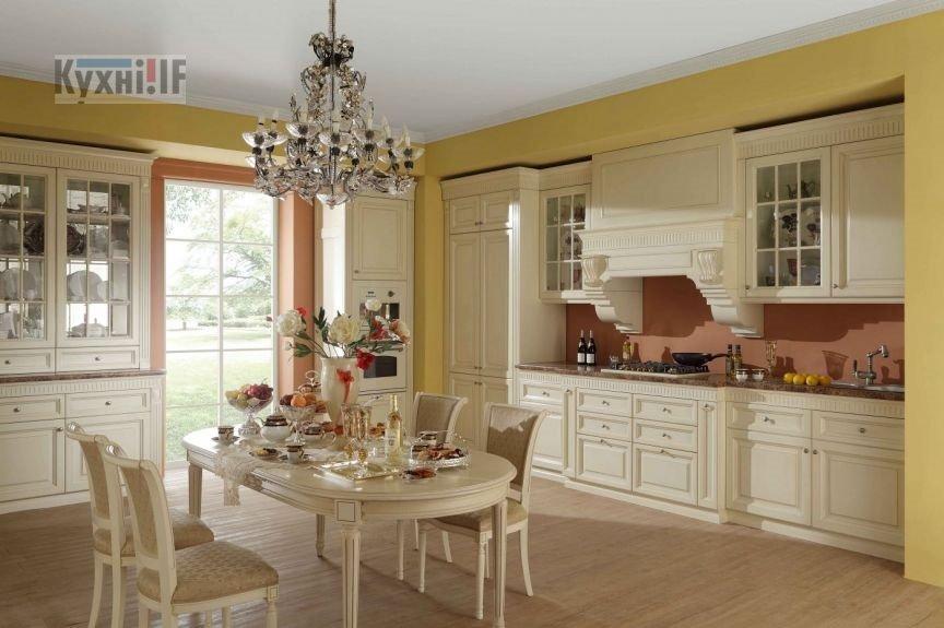 Кухні в класичному стилі фото Кухні.IF-57