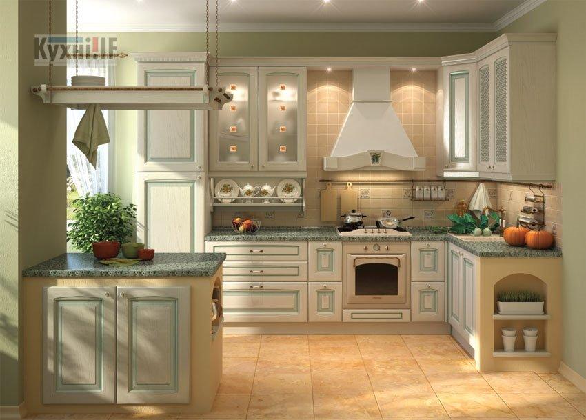 Кухні в класичному стилі фото Кухні.IF-61