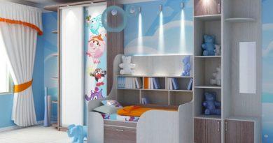 Шафи купе в дитячу кімнату фото-1