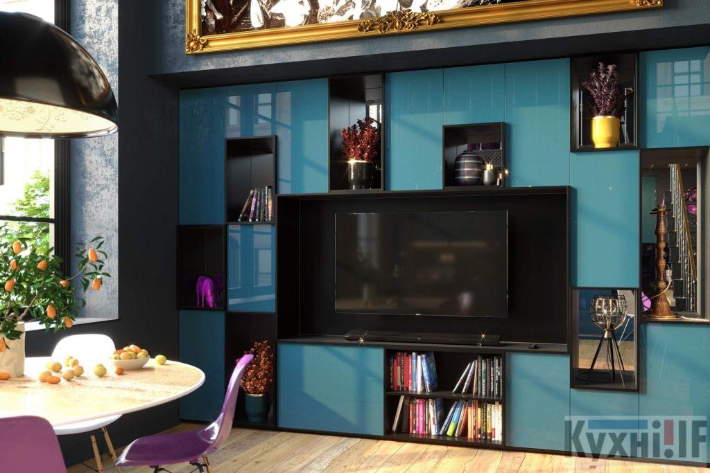 Меблі у вітальню в Івано-Франківську Кухні.IF_11