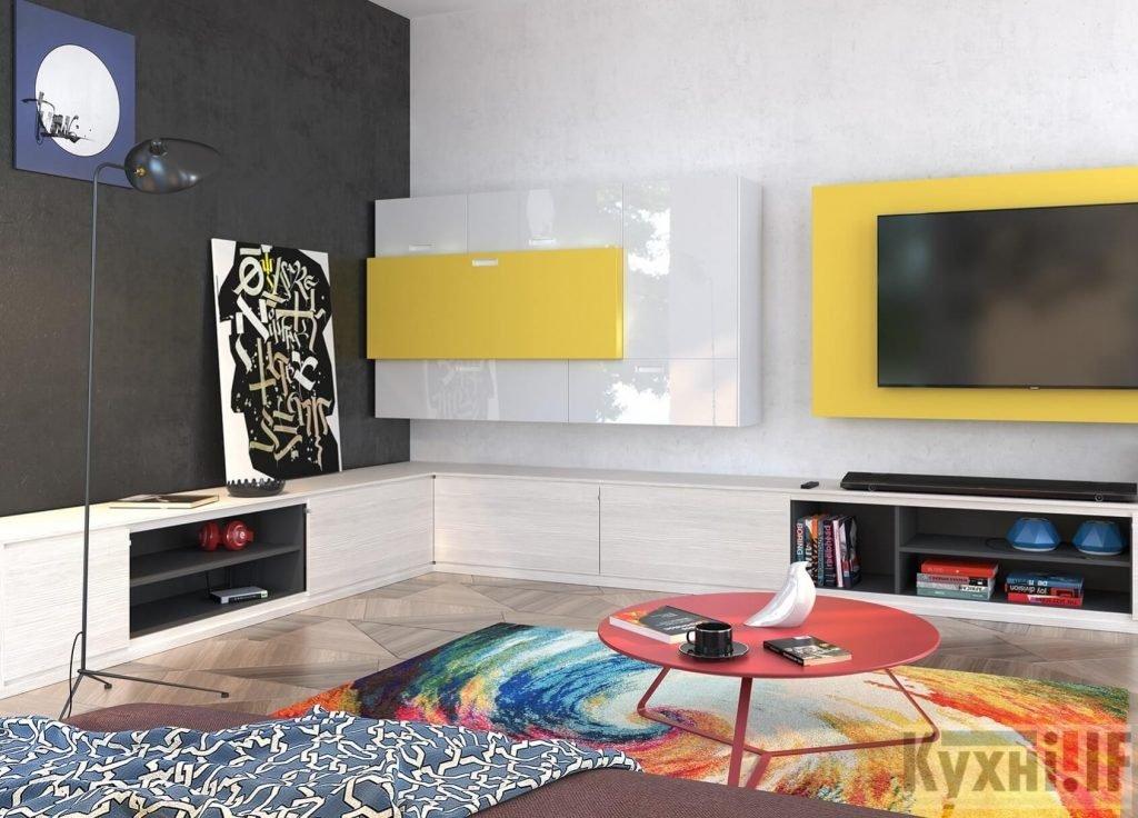 Меблі у вітальню в Івано-Франківську Кухні.IF_6