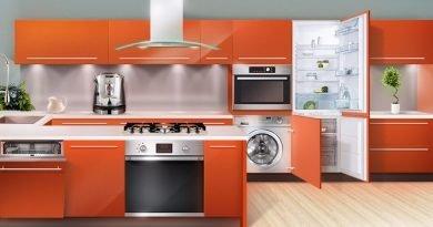 Вбудована кухонна техніка фото