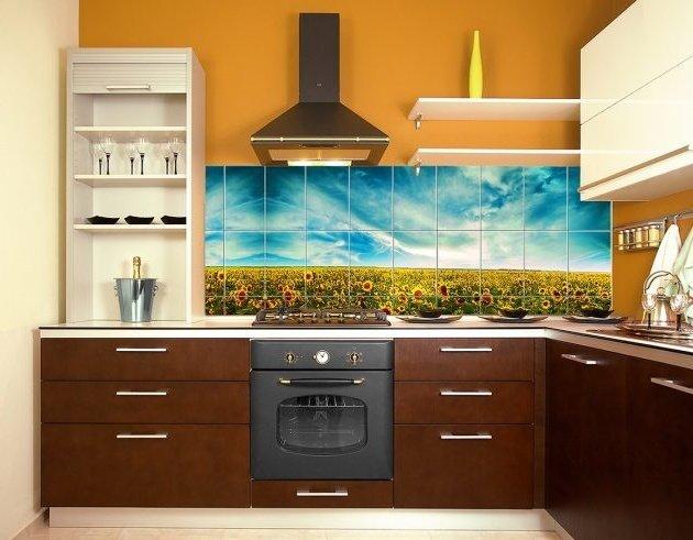 Як правильно вибрати меблі у кухню фартук
