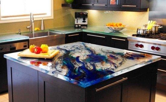 Як правильно вибрати меблі у кухню стільниці фото 5