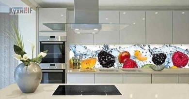 Фартух для кухні зі скла - скіналі фото 1