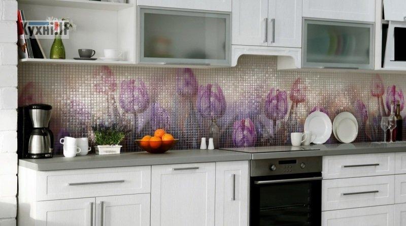 Фартух для кухні зі скла - скіналі фото 5