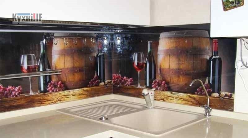 Фартух для кухні зі скла - скіналі фото 4