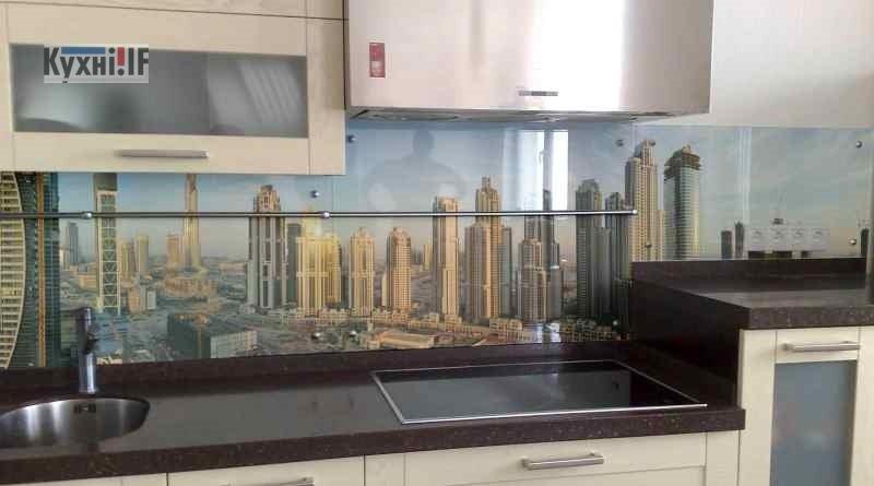 Фартух для кухні зі скла - скіналі фото 9