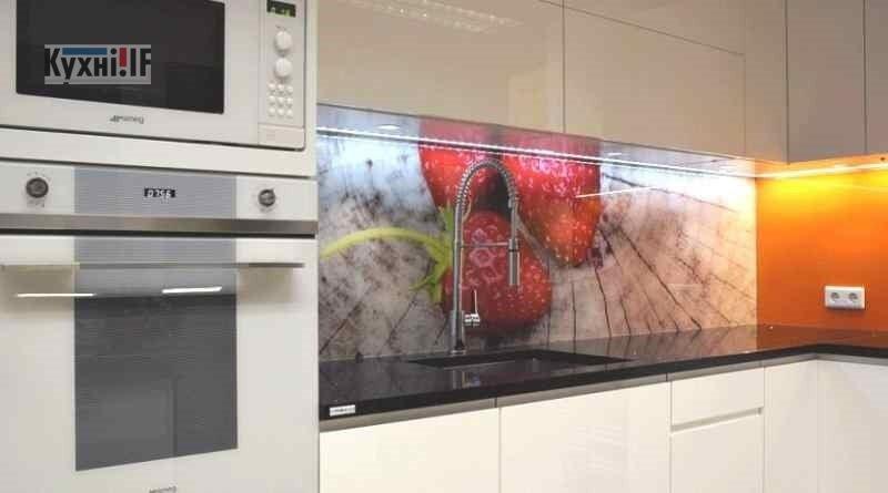 Фартух для кухні зі скла - скіналі фото 8
