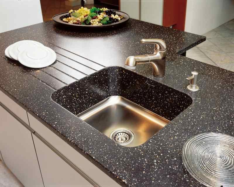 Мийки з штучного каменю фото Кухні.IF-2
