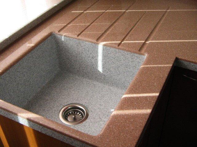 Мийки з штучного каменю фото Кухні.IF-16
