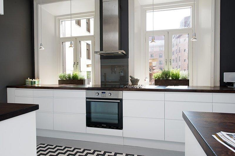 Як створити інтер'єр кухні у стилі мінімалізм фото 3