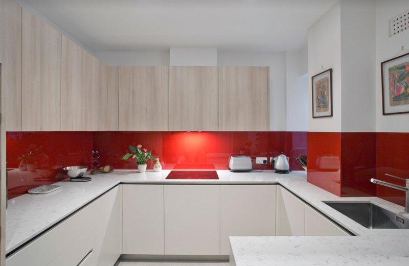 Як створити інтер'єр кухні у стилі мінімалізм фото 5