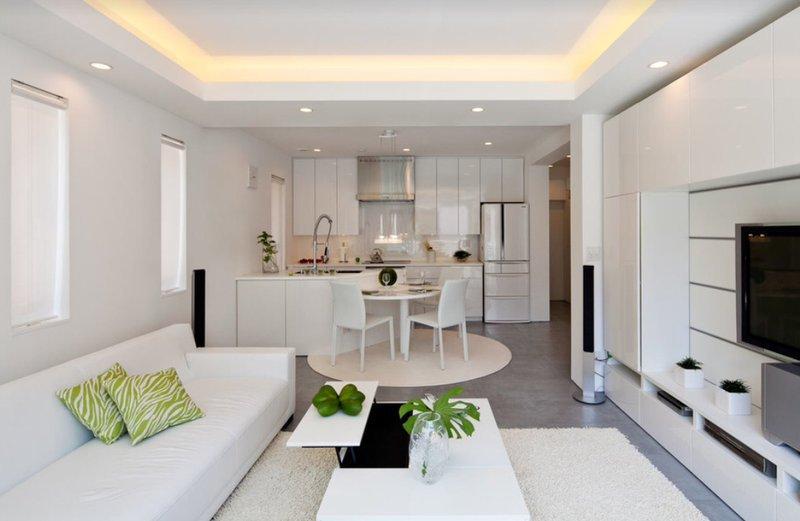 Кухні в стилі мінімалізм фото 7