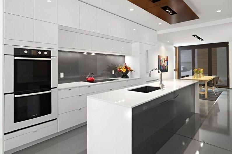 Кухні у стилі хай-тек Кухні.IF 12