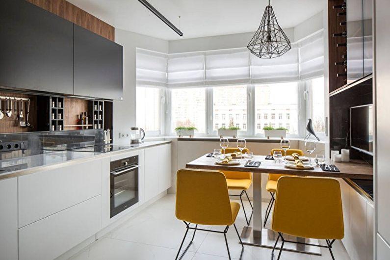Кухні у стилі хай-тек Кухні.IF