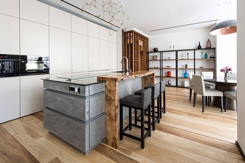 Кухні у стилі хай-тек Кухні.IF 20