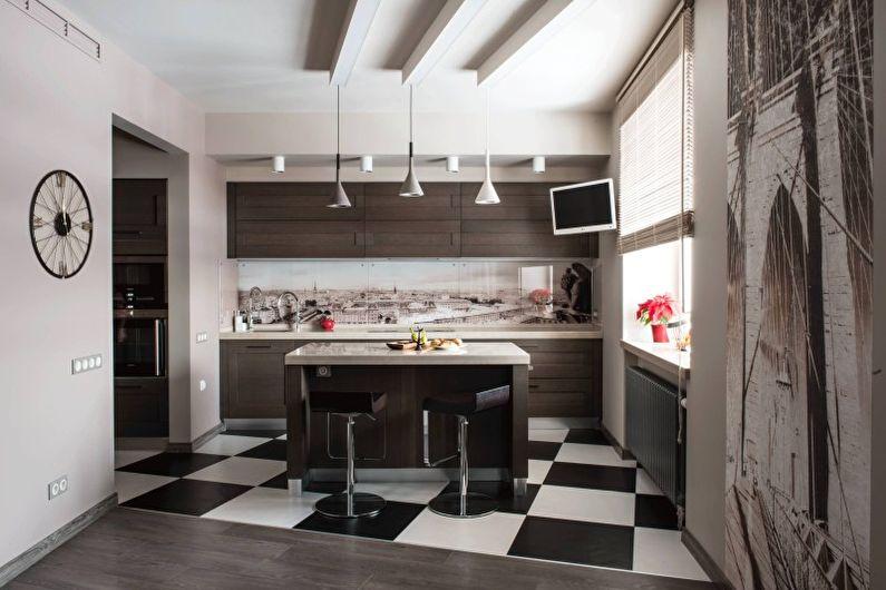 Кухні у стилі хай-тек Кухні.IF 21