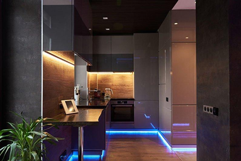 Кухні у стилі хай-тек Кухні.IF 22
