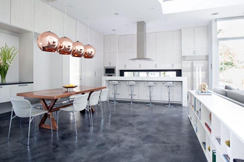 Кухня у стилі хай-тек 2