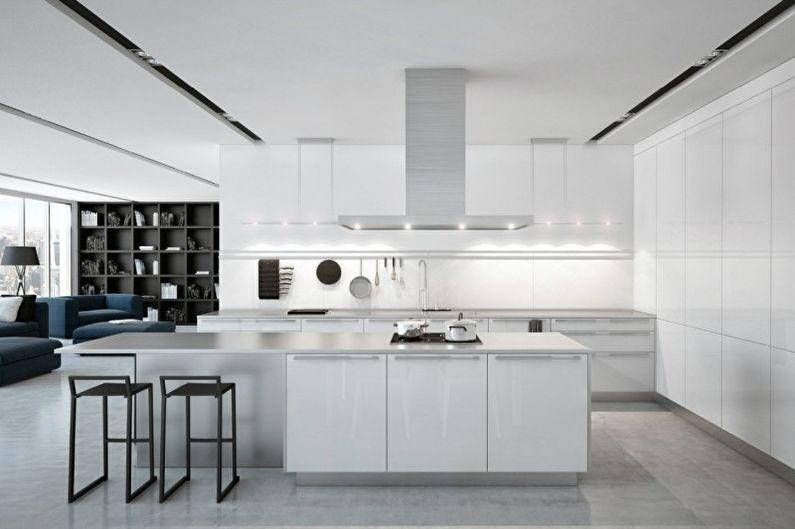 Кухня у стилі хай-тек 3