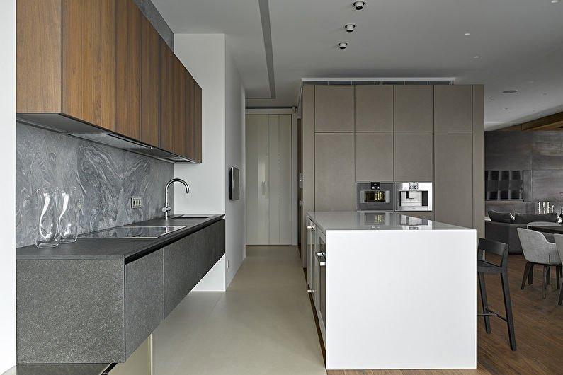 Кухні у стилі хай-тек 5