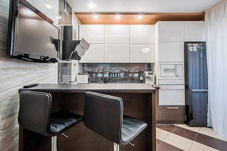 Кухні у стилі хай-тек 6