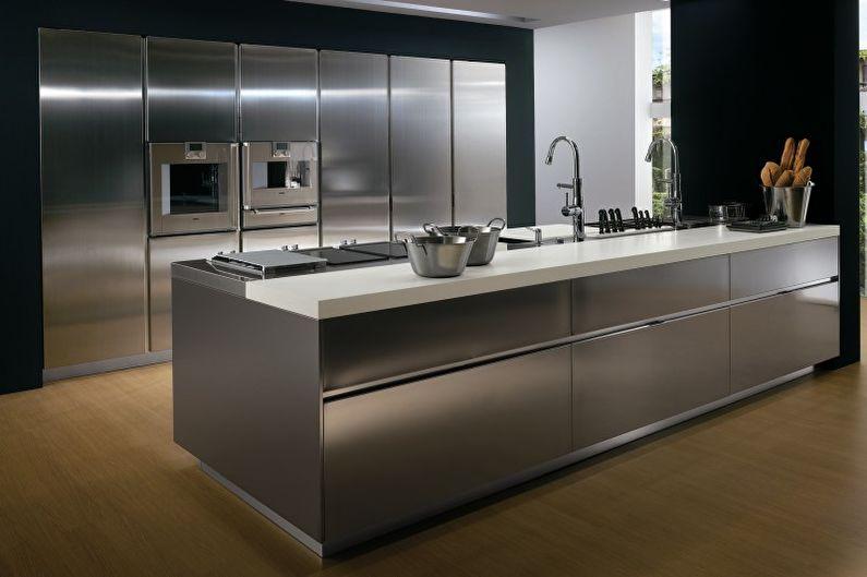 Кухні у стилі хай-тек 7