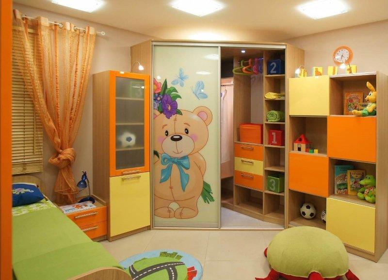 Дитячі шафи купе фото Кухні.IF 3
