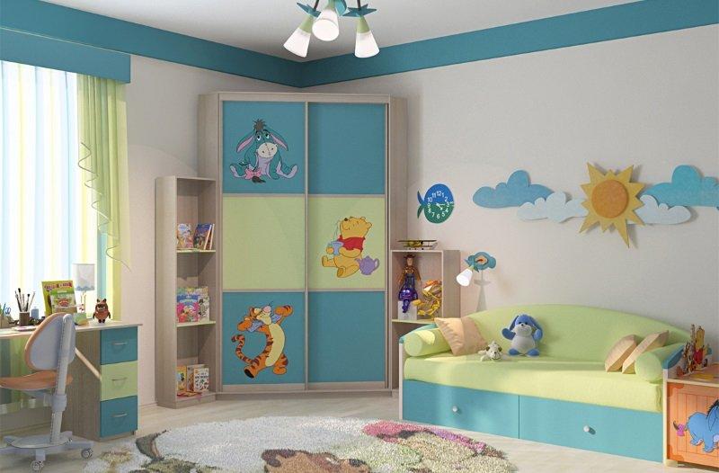 Дитячі шафи купе фото Кухні.IF 5