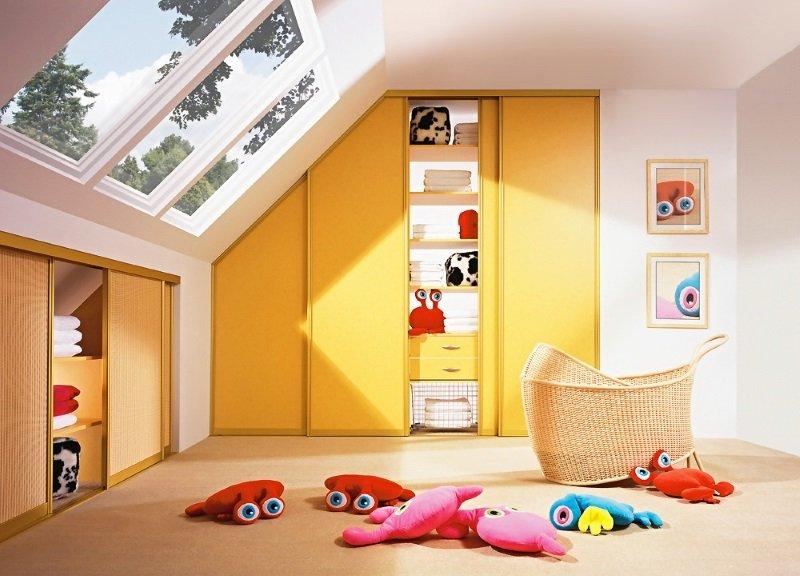Дитячі шафи купе фото Кухні.IF 6