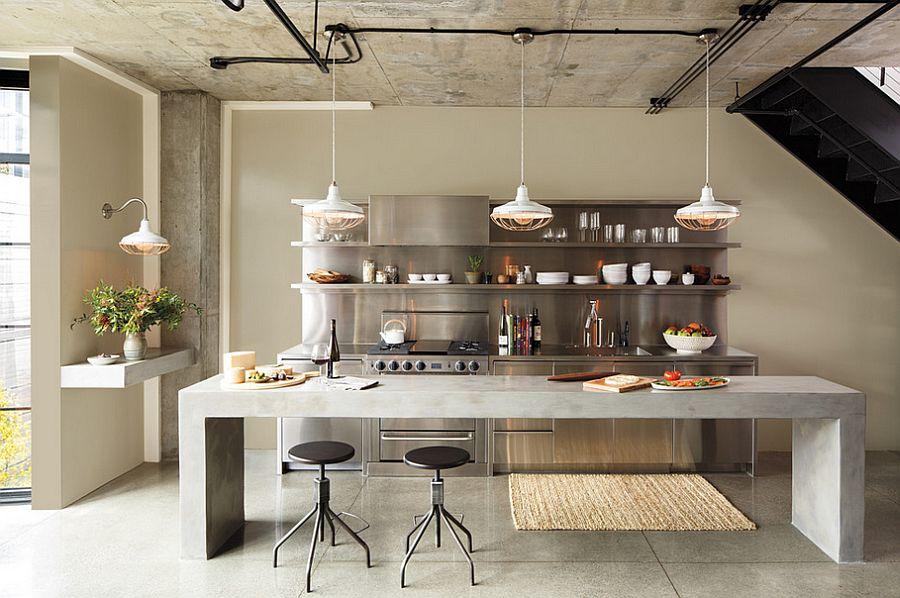 Кухня в Індустріальному стилі фото 11