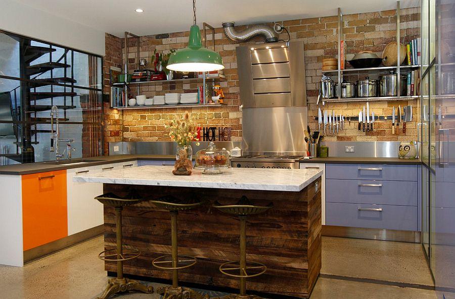 Кухня в Індустріальному стилі фото 12