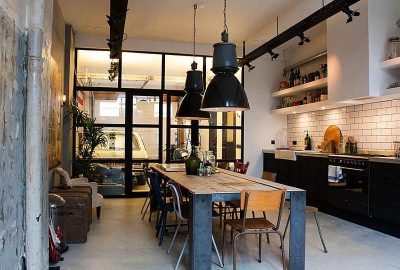 Кухня в Індустріальному стилі фото 13