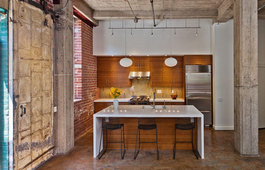 Кухня в Індустріальному стилі фото 14