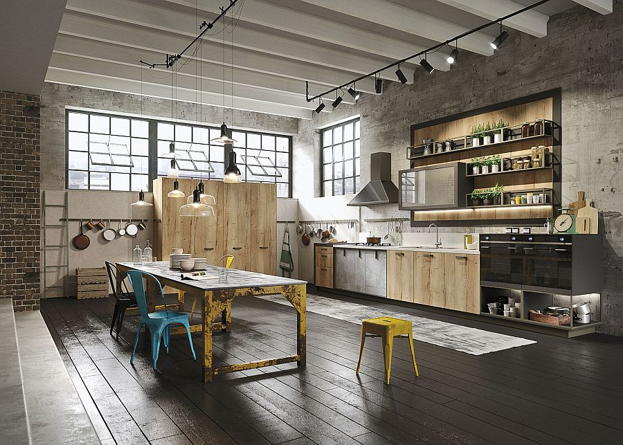 Кухня в Індустріальному стилі фото 19
