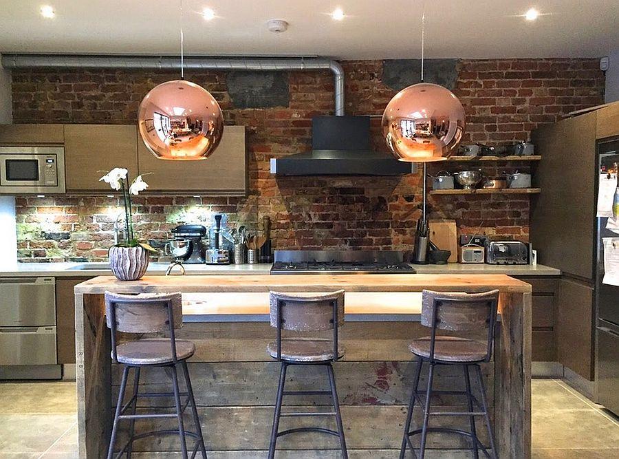 Кухня в Індустріальному стилі фото 21