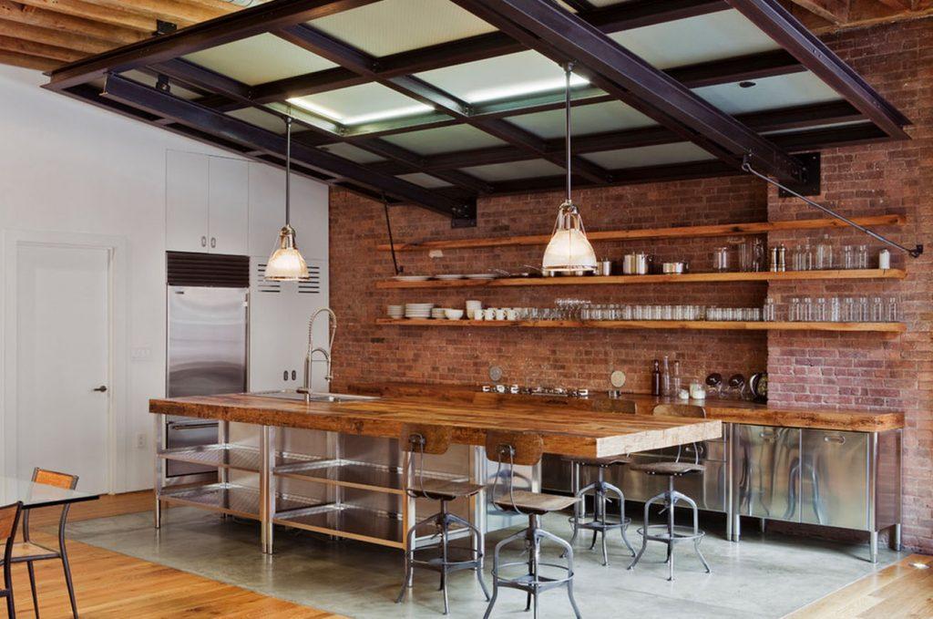 Кухня в Індустріальному стилі фото 3