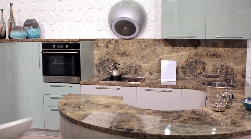 Стільниця з кварцового каменю Кухні.IF фото 3
