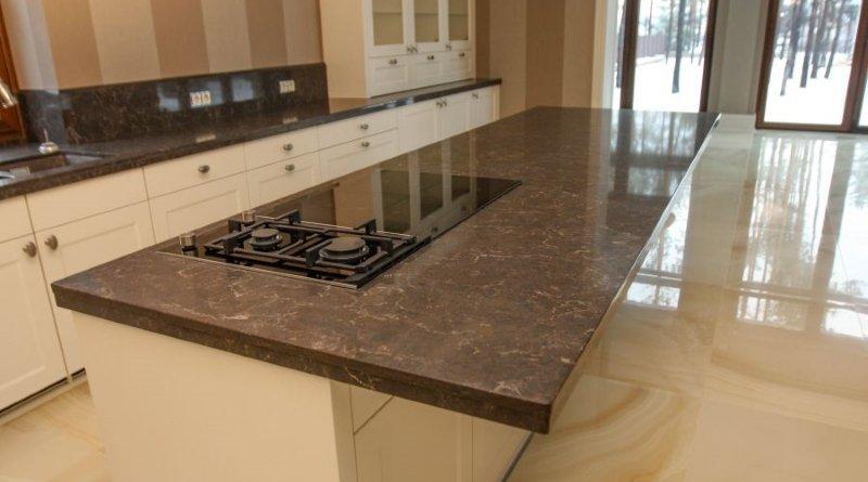 Стільниця з кварцового каменю Кухні.IF фото 6
