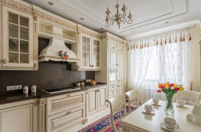 Фарбовані фасади для кухні фото