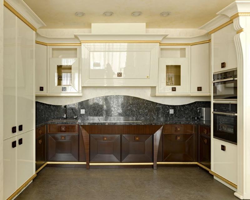 Фарбовані МДФ фасади для кухні фото 7